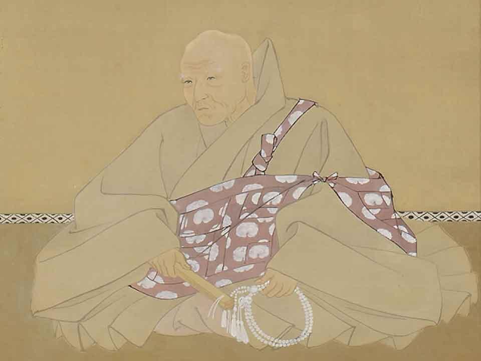 香樹院釋徳龍肖像画